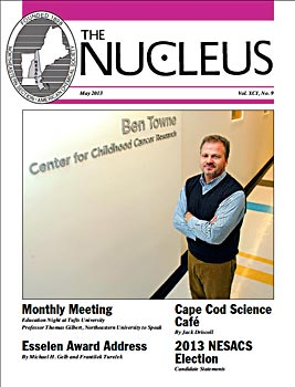 May 2013 Issue of The Nucleus